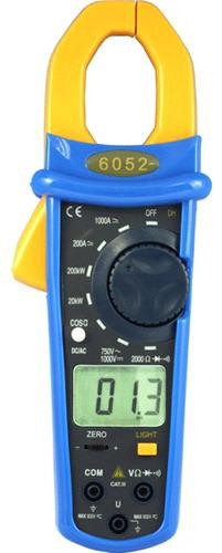 Digital Watt Meter Clamp : Digital ac and dc power clamp meter